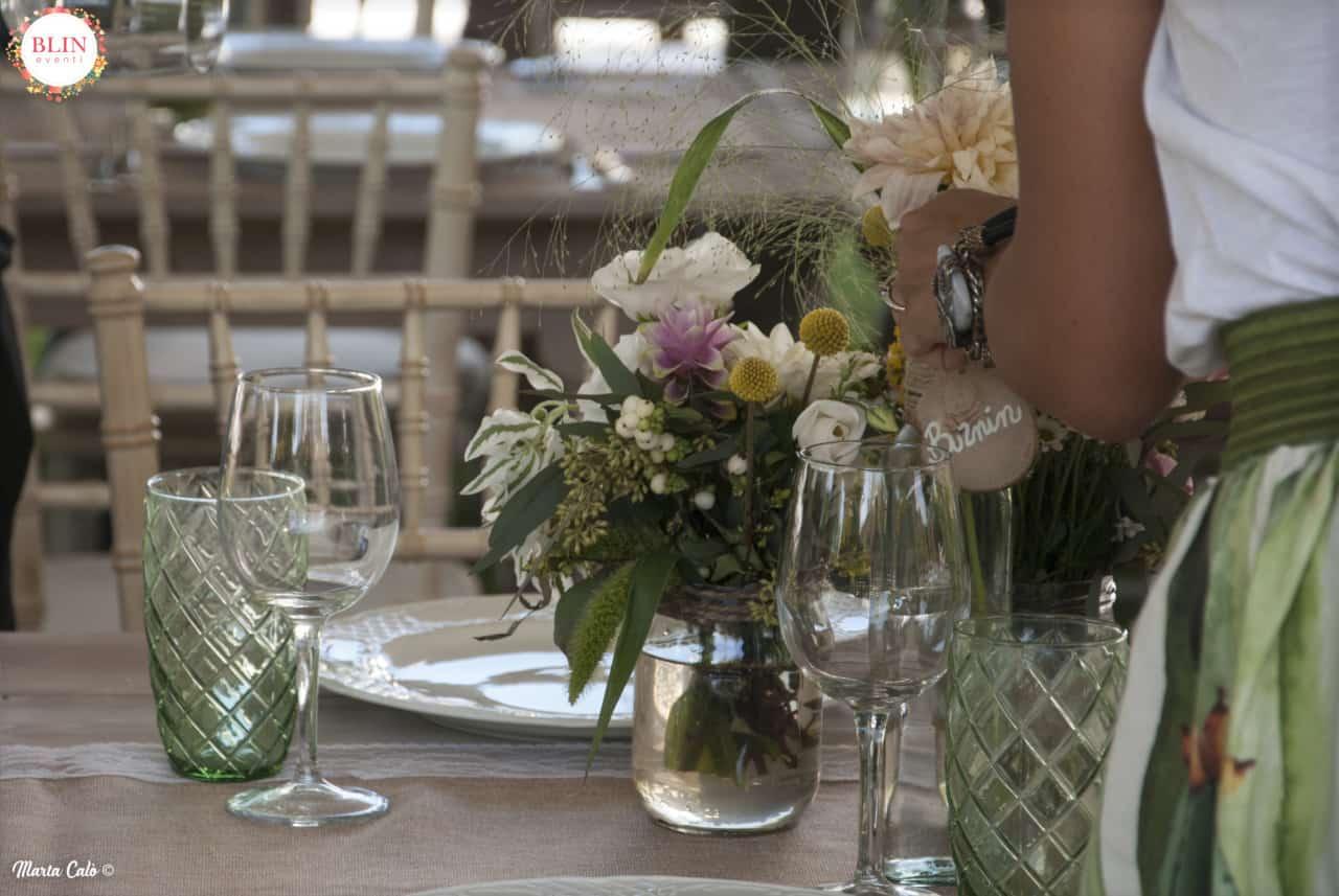 Allestimenti Matrimonio Rustico : Dettagliotavolo blineventi matrimonio rustico blin eventi