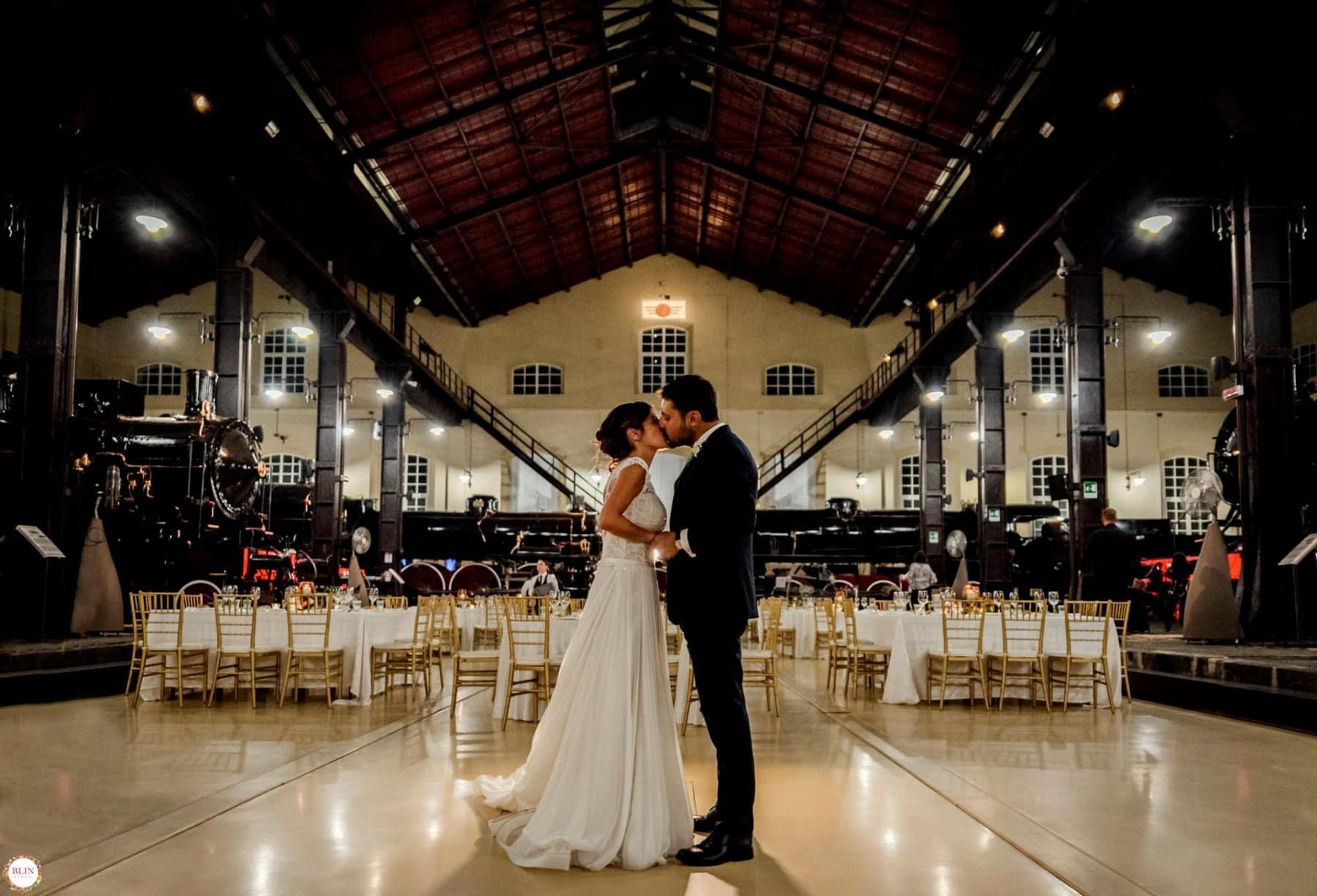 Matrimonio In Fotografia : Wedding post matrimonio al museo ferroviario di pietrarsa blin