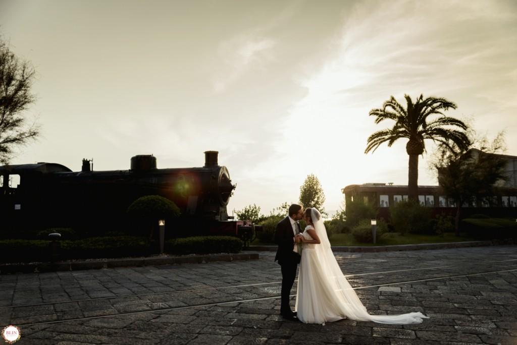 Wedding Post Matrimonio Al Museo Ferroviario Di Pietrarsa Blin