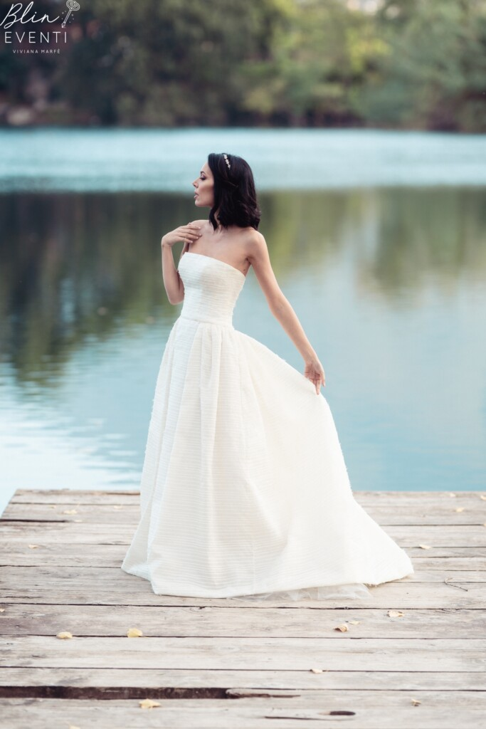 abito da sposa Peter Langner Kintsugi