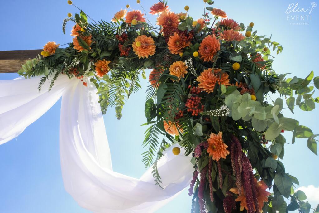allestimento floreale cerimonia simbolica