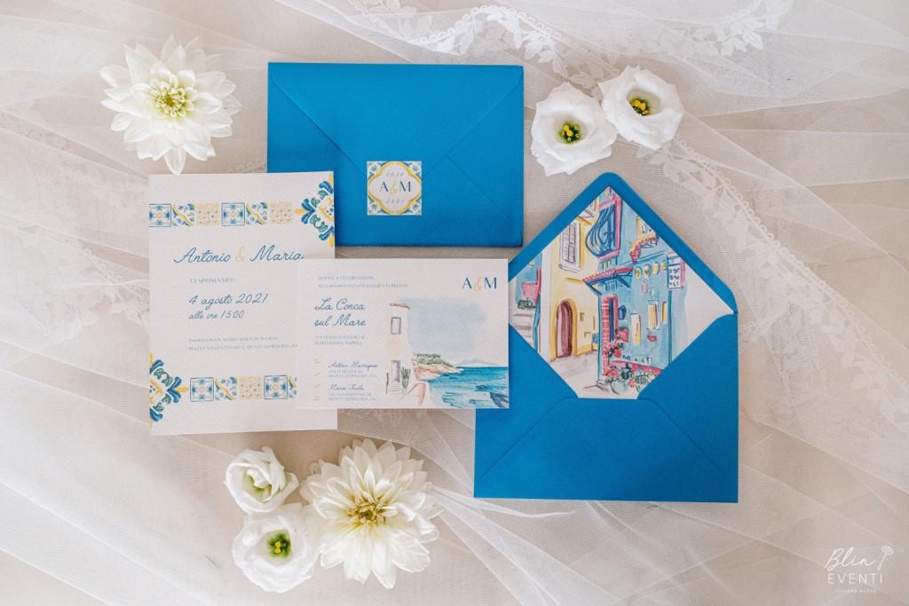 wedding stationery amalfi coast